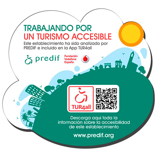 Sello Turismo Accesible PREDIF